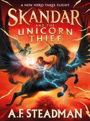 cover image of Skandar and the Unicorn Thief