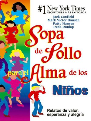 cover image of Sopa de Pollo para el Alma de los Niños
