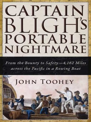 cover image of Captain Bligh's Portable Nightmare