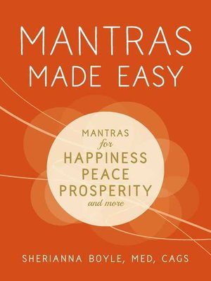 cover image of Mantras Made Easy