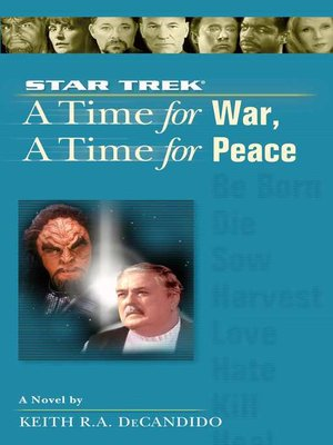 cover image of A Time for War and a Time for Peace