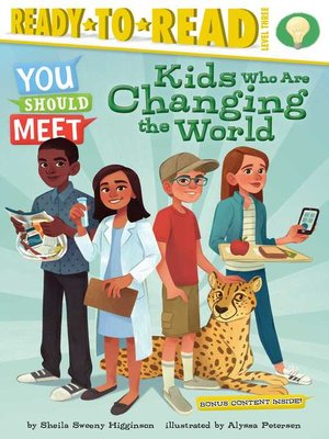cover image of Kids Who Are Changing the World