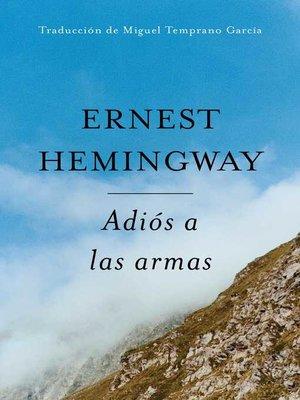 cover image of Adios a Las Armas (Spanish Edition)