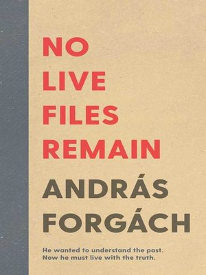 cover image of No Live Files Remain