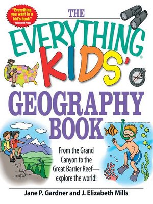 cover image of The Everything Kids' Geography Book