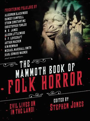 cover image of The Mammoth Book of Folk Horror