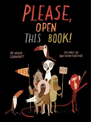 cover image of Please, Open This Book!