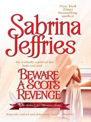 cover image of Beware a Scot's Revenge