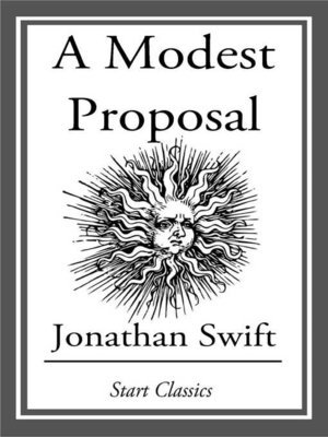 Image result for a modest proposal