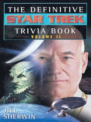 cover image of Star Trek Trivia Book Volume Two