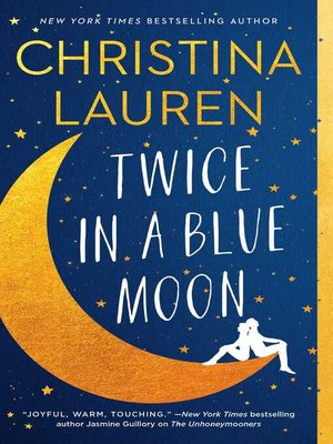 cover image of Twice in a Blue Moon