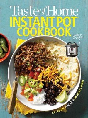cover image of Taste of Home Instant Pot Cookbook