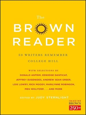 cover image of The Brown Reader