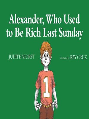 cover image of Alexander, Who Used to Be Rich Last Sunday
