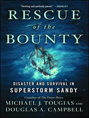 cover image of Rescue of the Bounty