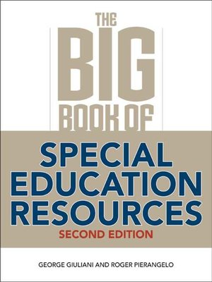 cover image of The Big Book of Special Education Resources