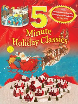 cover image of 5 Minute Holiday Classics