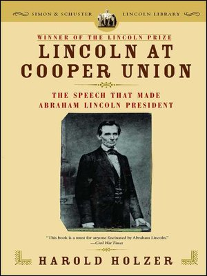 cover image of Lincoln at Cooper Union
