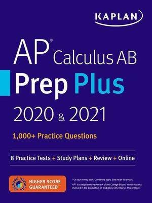 cover image of AP Calculus AB Prep Plus 2020 & 2021