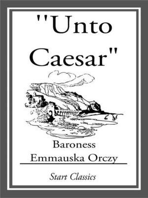 "cover image of ""Unto Caesar"""