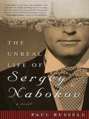 cover image of The Unreal Life of Sergey Nabokov