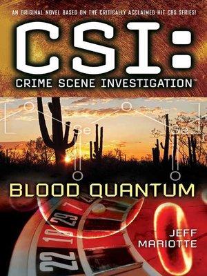 cover image of Blood Quantum