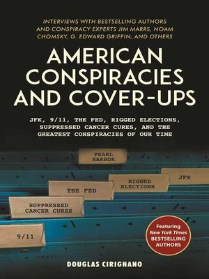 cover image of American Conspiracies and Cover-ups