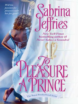 cover image of To Pleasure a Prince
