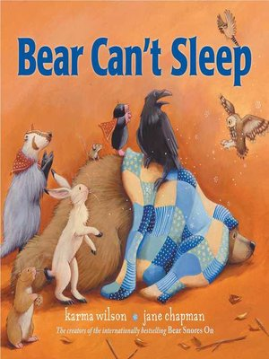cover image of Bear Can't Sleep