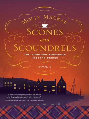cover image of Scones and Scoundrels