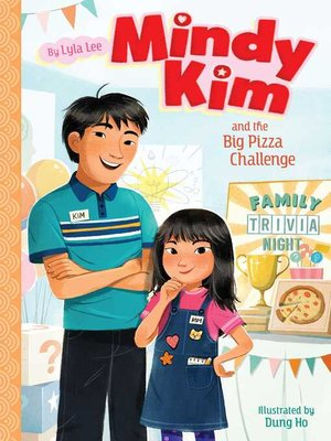 cover image of Mindy Kim and the Big Pizza Challenge