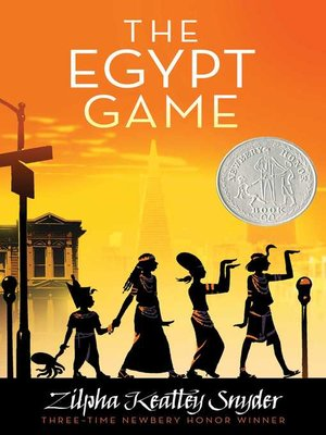 cover image of The Egypt Game