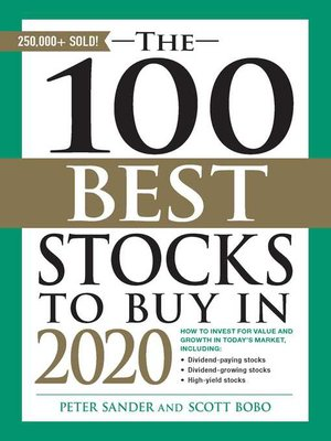 cover image of The 100 Best Stocks to Buy in 2020