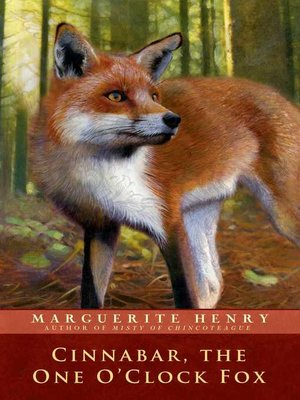 cover image of Cinnabar, the One O'Clock Fox