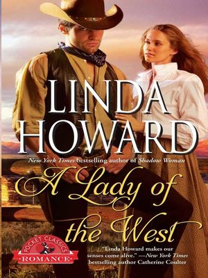 cover image of A Lady of the West