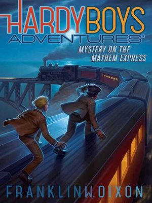 cover image of Mystery on the Mayhem Express