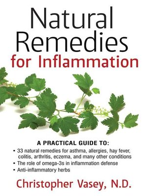 cover image of Natural Remedies for Inflammation