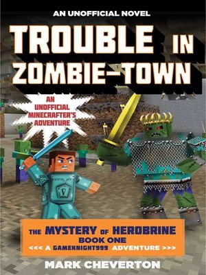 cover image of Trouble in Zombie-town