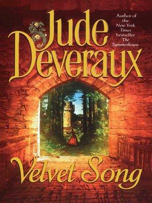 cover image of Velvet Song