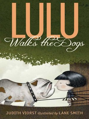 cover image of Lulu Walks the Dogs