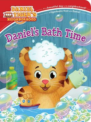 cover image of Daniel's Bath Time