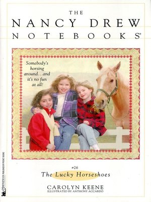 cover image of The Lucky Horseshoes