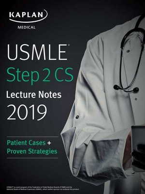 USMLE Step 1 Lecture Notes 2017 by Kaplan Medical · OverDrive