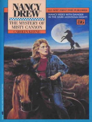 cover image of The Mystery of Misty Canyon
