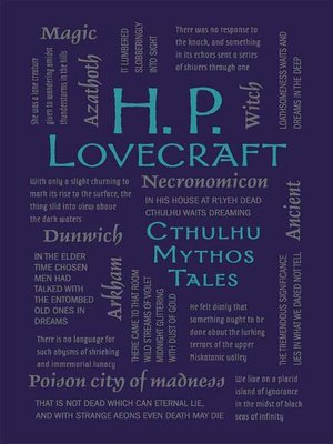 cover image of H. P. Lovecraft Cthulhu Mythos Tales