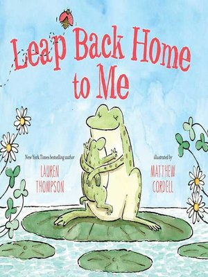 cover image of Leap Back Home to Me
