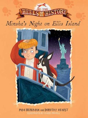 cover image of Minsha's Night on Ellis Island