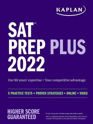 cover image of SAT Prep Plus 2022