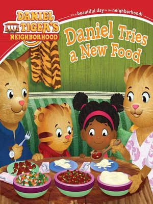 cover image of Daniel Tries a New Food