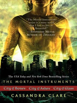 cover image of The Mortal Instruments Series, Books 1 - 3